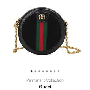 Gucci Mini Round Shoulder Bag